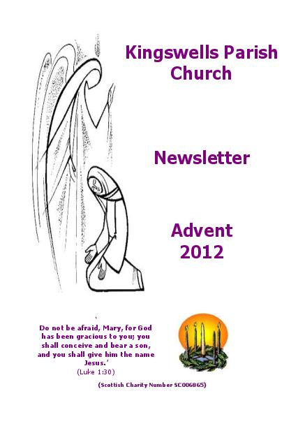 Advent Newsletter 2012