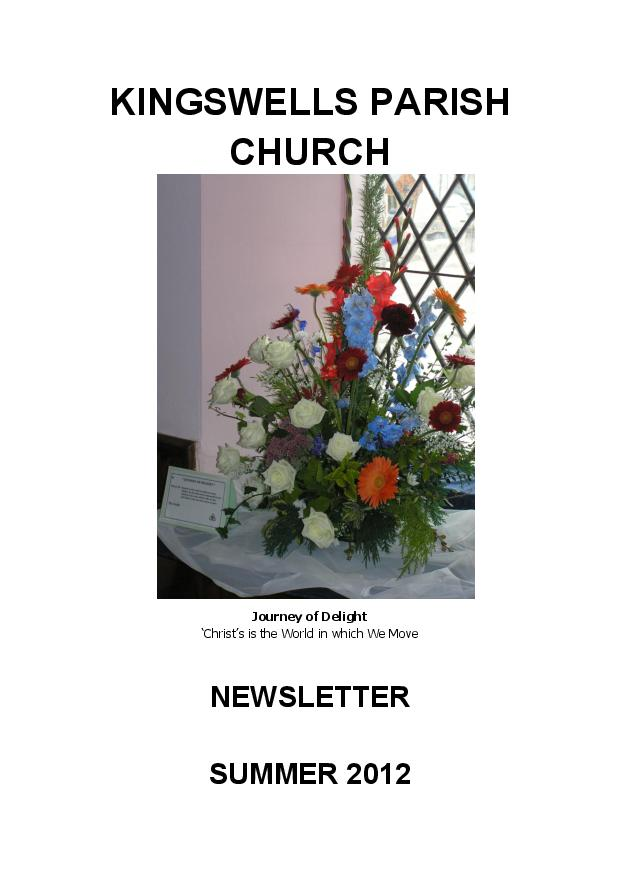 Summer Newsletter 2012