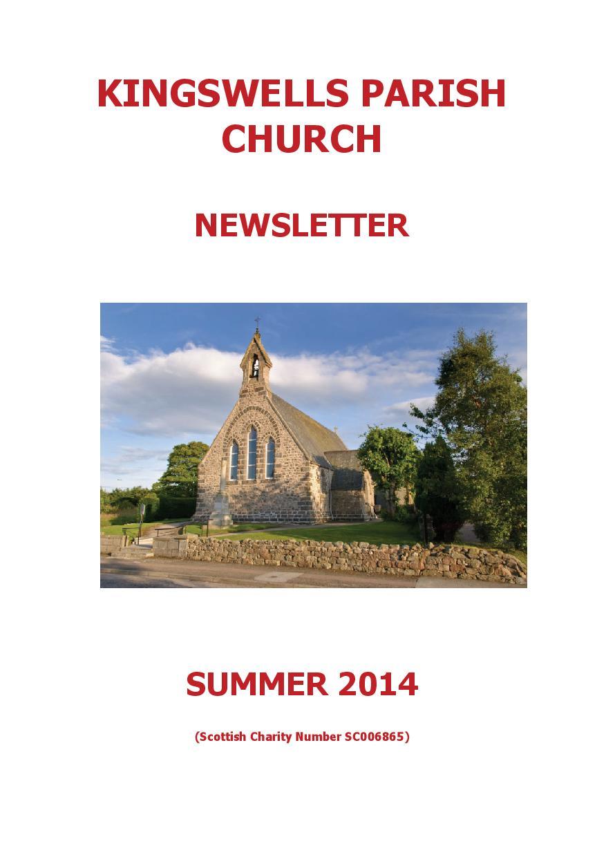 Summer Newsletter 2014