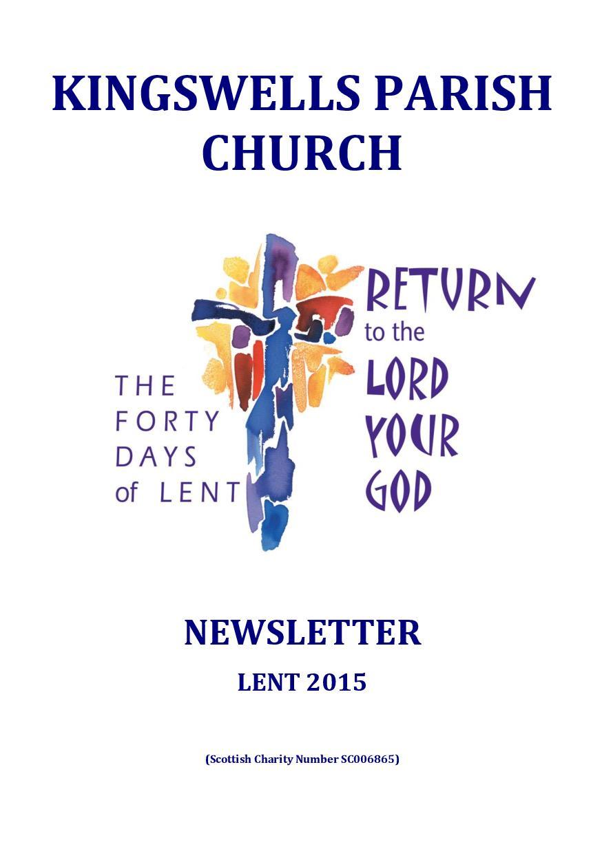 Lent Newsletter 2015