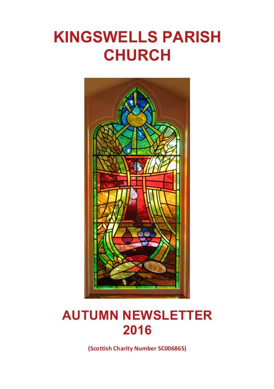 Autumn Newsletter 2016