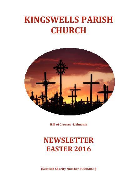 Easter Newsletter 2016