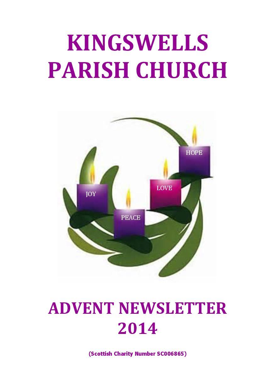 Advent Newsletter 2014