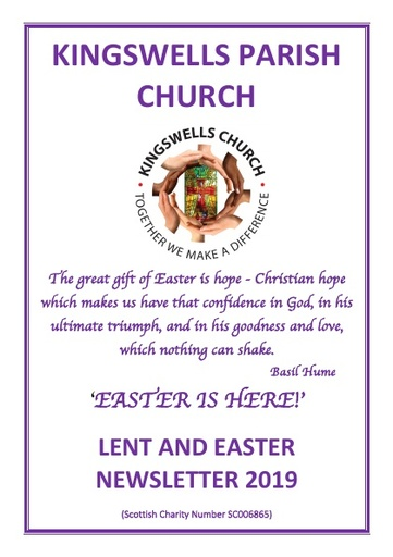 LENT AND EASTER 2019